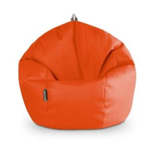 HAPPERS Puff Pelota 60cm diámetro (Naranja)