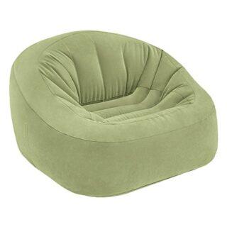 Intex 68576NP - Sillón hinchable Beanless Bag Club en color verde 124 ...