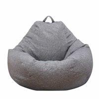 Iraza Puff Funda de Bean Bag 80x90cm,Kit de Sillónes de Hinchables de ...