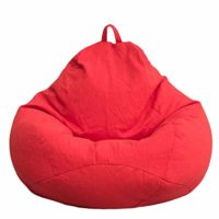 MAKTXL Large Bean Bag Chairs, Solid Color Bean Bag Sofa Cover Seat Rec...