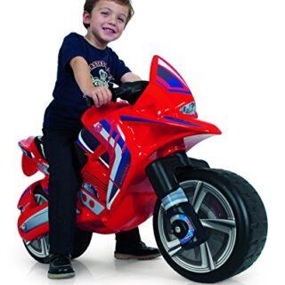 INJUSA Moto Hawk Color rojo para niños mayores de 3 años, ...