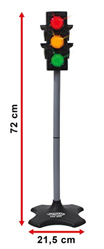 Jamara- 460256-Semáforo Gran semáforo con función de iluminación Real ...