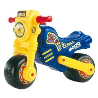 Motocicleta Moltó Cross sin pedales para niños, multicolor (06228)