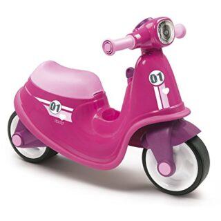 Scooter rosa con ruedas silenciosas (Smoby 721002)