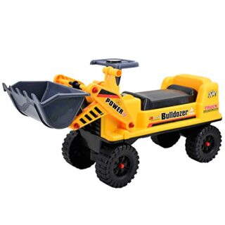 deAO Truck Trolley Trailer Vehículo sin pedales Tractor Bul ...