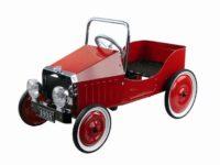 Gollnest & Kiesel 14062 - Coche rojo con pedales (metal), diseño retro ...