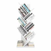 Homfa Estantería para Libros Librería de Árbol Estantería de Pared con...
