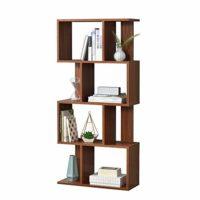 [en.casa]®] Librería 130 x 60 x 24 cm Estante para CDs Soporte para DV...