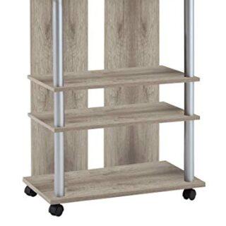 FMD Möbel 205-007 Variant 7 - Mueble Auxiliar para televisión y Equipo...