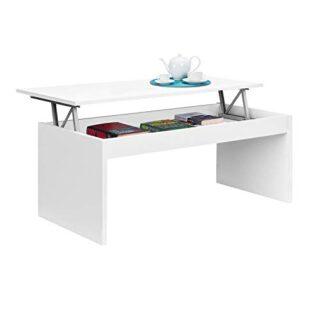 Habitdesign 001638BO - Mesa de Centro elevable, mesita Mueble Salon Co...