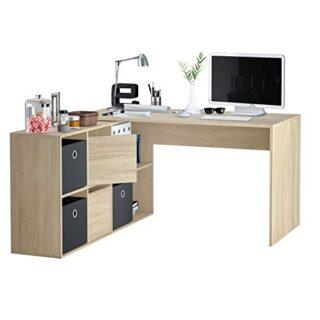 Habitdesign 004606F - Mesa Escritorio, Mesa despacho Reversible, Color...