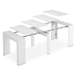 Habitdesign - Mesa de Comedor Consola Extensible, Mesa para Salon reci...