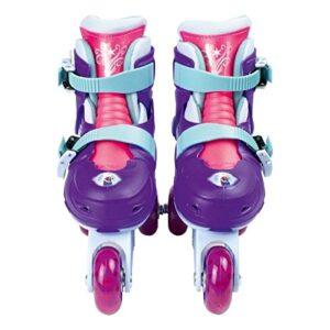 Disney-OFRO084 Tri skates 2 en 1, púrpura / azul / rosa, 27-3 ...