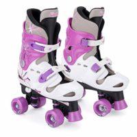 Osprey Quad - Patines ajustables para niñas, Violeta, 32 - 36 EU