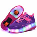 SHANGN Wheel Shoes Patines con ruedas LED para niños Unisex P ...