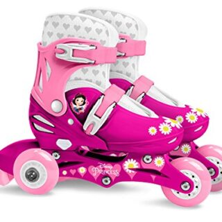 Stamp Sas- Princess Ajustable Two in One 3 ruedas Skate Talla 27-30, C ...