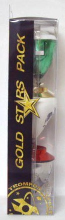 Xtreme - Gold Star Three Horn Pack (Espacio 008000047)