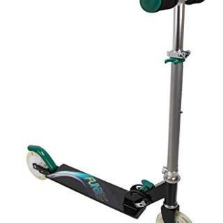 Funbee Scooter 2 ruedas LED Luz plegable plegable manillar de 68 a 7 ...