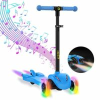 Hiboy S51 - Scooter con 3 ruedas para niños con música y vapor, +3 años ...