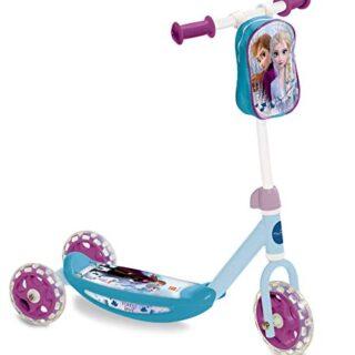 Mondo Toys Frozen 28222, Scooter con 3 ruedas y bolsa