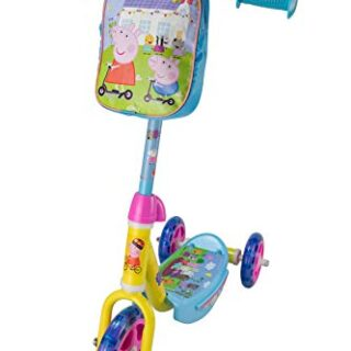 Peppa Pig OPEP113 - Scooter de 3 ruedas, color azul