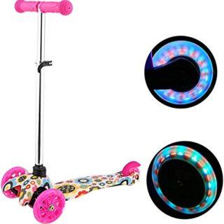 Scooter 3 ruedas Profun Scooter Scooter infantil con 3 ruedas Flash Pati ...