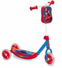 Spiderman - Scooter 3 ruedas con bolsa (Mondo Toys 18273)
