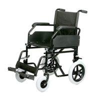Asiento plegable de acero para silla de ruedas 45 cm