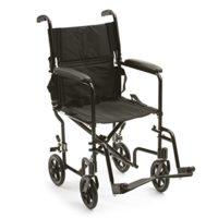 Drive Medical ATC19-BK - Silla de ruedas (aluminio, con soporte para p ...