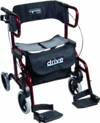 Drive Medical Diamond Deluxe - Silla de ruedas, con reposapiés, color ...