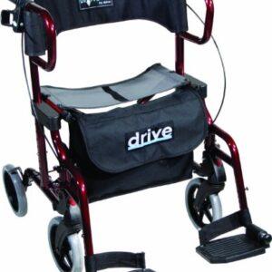 Drive Medical Diamond Deluxe - Silla de ruedas, con reposapiés, color ...