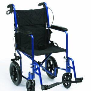 Drive Medical EXP19BL Expedition - Silla de ruedas ligera (aluminio, 4 ...