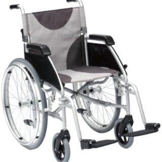 Drive Medical LAWC007A - Silla de ruedas (aluminio, 45,7 cm)