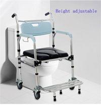 La silla de ducha G&X y la silla multifuncional W.C se pueden plegar con ...