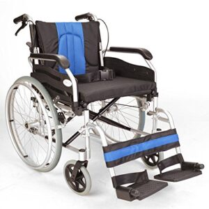 Ligero plegable propulsión de silla de ruedas autopropulsada con ...