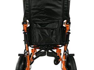 Mobiclinic, silla de ruedas ligera, reposapiés, respaldo y reposabrazos ...