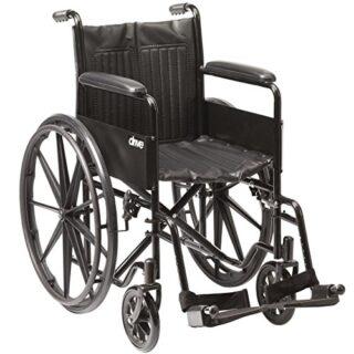 NRS Healthcare M24939 - Silla de ruedas autopropulsada