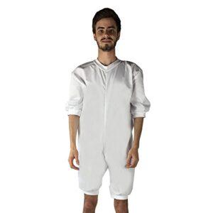 Ortotex QA-00370 / XL - Pijama antipañal de sarga (verano) corto xl
