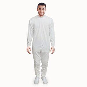 Ortotex QA-00371 / L - Pijama antipañal de sarga (verano) largo l
