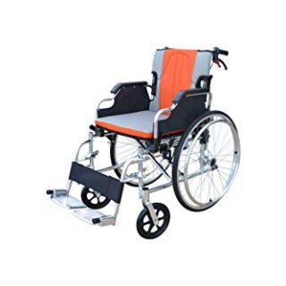 POLIRONESHOP KEROS Silla de ruedas de aluminio plegable y autopropulsada ...