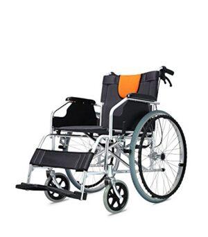 POLIRONESHOP LIGERA Silla de ruedas de aluminio plegable y autopropulsada ...