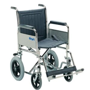 Patterson Medical - Silla de ruedas Transit (plegable, con reposabrazos ...