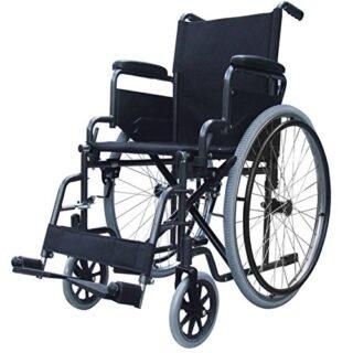 Silla de ruedas autopropulsada plegable Elite Care ECSP02
