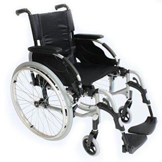 Silla de ruedas de aluminio autopropulsada Action 2 43 cm asiento