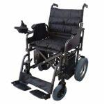 Silla de ruedas eléctrica, Plegable, Acero, Con motor, Para discapacitados ...