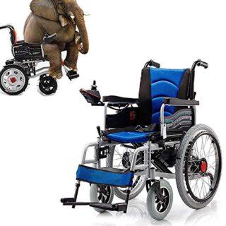 Silla de ruedas eléctrica ZHLZH, silla de ruedas eléctrica plegable ...