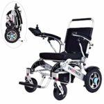 Silla de ruedas eléctrica plegable, scooter eléctrico ligero de lujo, con ...