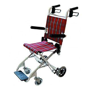 Silla de ruedas para transporte de pacientes.