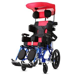 Silla de ruedas pequeña para niños, asiento de 18 pulgadas, asiento de coche ...