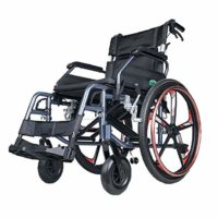 Silla de ruedas plegable, sistema doble de aleación de magnesio ...